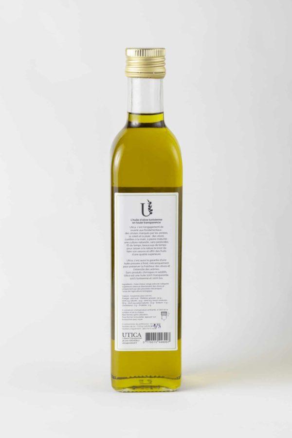 Huile d'olive composition UTICA