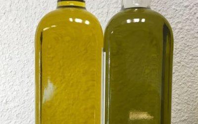 La couleur d'une huile d'olive est-elle un gage de qualité ?